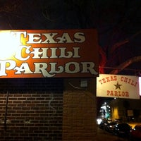 Photo taken at Texas Chili Parlor by Matthew L. on 1/13/2011