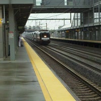 Photo taken at Newark Liberty Airport Station (Amtrak/NJT) by Edgardo L. on 5/15/2012