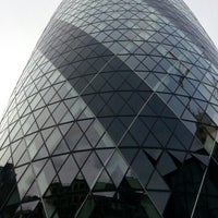 Photo taken at 63 St Mary Axe by Henrry P. on 8/26/2012