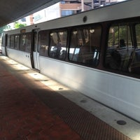 Photo taken at Silver Spring Metro Station by Michael S. on 5/24/2012
