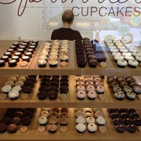 Photo taken at Sprinkles Cupcakes by Luc J. on 4/10/2012
