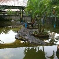 Photo taken at Taman Buaya (Crocodile World) by Fau F. on 7/14/2012