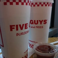 Photo taken at Five Guys by Brian A. on 5/5/2012