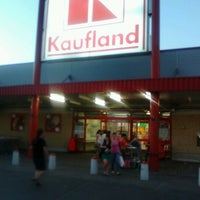 Photo taken at Kaufland by Gabriel V. on 9/4/2012