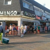 Photo taken at Manco & Manco Pizza by Maureen B. on 8/4/2012
