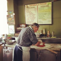 Photo taken at Di Fara Pizza by Karol M. on 8/8/2012