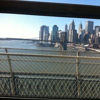 Photo taken at MTA Subway - Manhattan Bridge (B/D/N/Q) by Marc L. on 2/13/2012