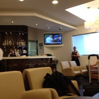 Photo taken at The Centurion Lounge by American Express by Higinio G. on 5/1/2012