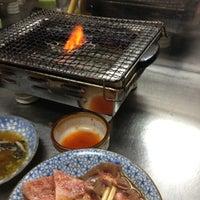 Photo taken at 焼肉かどや by Miyuky on 6/30/2012