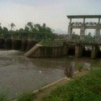 Photo taken at Dam Bendungan Sungai Citarik Majalaya by Jana A. on 6/9/2012