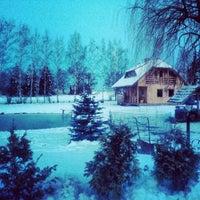 Photo taken at Eglieni by Sergey S. on 4/9/2012