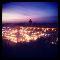 Photo taken at Place Jemaa el-Fna by J. B. on 5/24/2012