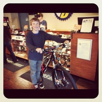 Photo taken at Mike's Bikes of Sausalito by Frank on 5/14/2012