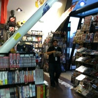 Photo taken at Night Flight Comics by Julie A. on 2/14/2012