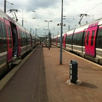Photo taken at Gare SNCF de Persan - Beaumont by David D. on 4/4/2012