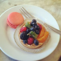 Photo taken at Margo Patisserie Cafe by Emily G. on 4/2/2012