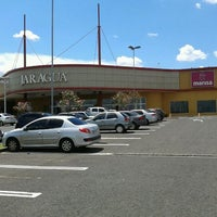 Photo taken at Shopping Jaraguá by Lucas S. on 2/15/2012