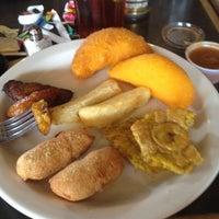 Photo taken at Zaguán Latin Bakery & Cafe by Kelsey C. on 4/15/2012