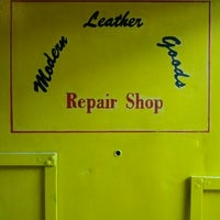 Photo taken at Modern Leather Goods & Repair by Kenny K. on 3/3/2012