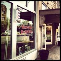 Photo taken at Kenwood Barbers by David O. on 7/24/2012