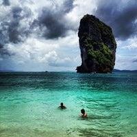 Photo taken at Poda Island by jakrit on 8/3/2012