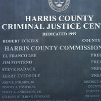 Photo taken at Harris County Criminal Justice Center by RocketRoy &. on 4/25/2012