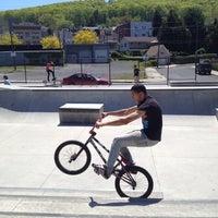 Photo taken at Bethlehem Skateplaza by Yvonne H. on 4/29/2012