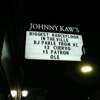 Photo taken at Johnny Kaw's by DJ P. on 5/6/2012
