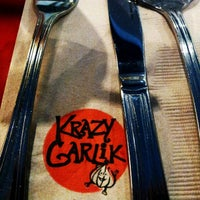 Photo taken at Krazy Garlik by Manny Cavalier 曼尼骑士 on 5/9/2012