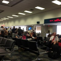 Photo taken at Gate D2 by Pedro on 8/10/2012