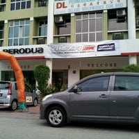 Photo taken at Perodua Bandar Baru Klang by mohd.hanim J. on 3/9/2012