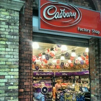 Photo taken at Cadbury's Factory Shop by George K. on 8/21/2012