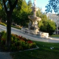 Photo taken at Erzsébet tér by Gabriella I. on 8/14/2012