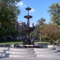 Photo taken at Children's fountain by Ed L. on 8/15/2012