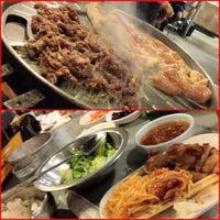 Photo taken at Honey Pig Gooldaegee Korean Grill by David C. on 6/22/2012
