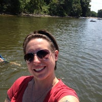 Photo taken at Croton Point Beach by Michelle F. on 7/22/2012