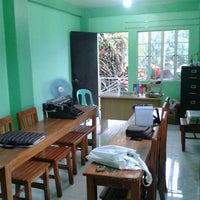 Photo taken at Brgy.56 Hall by Cesar J. on 7/26/2012
