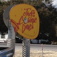 Photo taken at Jack's Cosmic Dogs by Adrienne H. on 3/15/2012