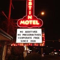 Photo taken at Austin Motel by Jeff W. on 3/8/2012