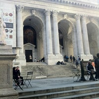 Photo taken at New York Public Library - Stephen A. Schwarzman Building Celeste Bartos Forum by Nadine M. on 3/11/2012