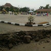 Photo taken at POLRES Indramayu by Rizkia t. on 6/10/2012