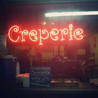 Photo taken at Creperie by Christian Q. on 4/9/2012