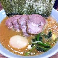 Photo taken at 武蔵家 中野本店 by t.yasuda on 3/10/2012