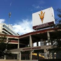Photo taken at Sun Devil Stadium by Robert T. on 3/11/2012