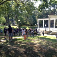 Photo taken at Memorial Amphitheater by Bethany P. on 8/21/2012