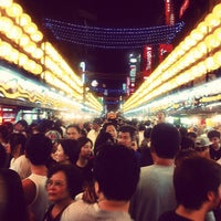 Photo taken at Miaokou Night Market by Hung H. on 6/9/2012