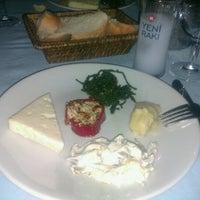 Photo taken at Antigoni Restaurant by Burcu S. on 8/24/2012