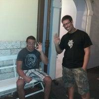"Photo taken at Gelateria ""Zuccherino"" by Nikolas S. on 8/15/2012"