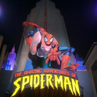 Photo taken at The Amazing Adventures of Spider-Man by Tim H. on 3/30/2012