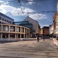 Photo taken at Marienplatz by Роман Н. on 4/6/2012